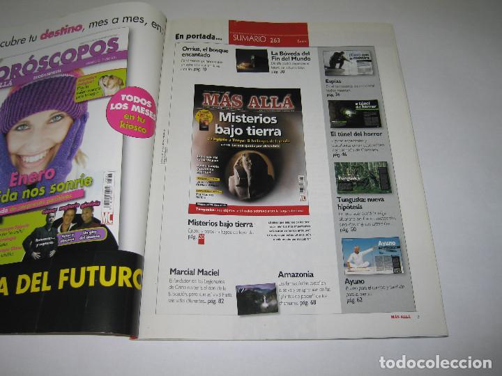 Coleccionismo de Revista Más Allá: MÁS ALLÁ - núm. 263 - MISTERIOS BAJO TIERRA de Egipto a Troya - 2011 - Foto 2 - 183892650
