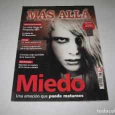 Coleccionismo de Revista Más Allá: MÁS ALLÁ - NÚM. 270 - MIEDO UNA EMOCIÓN QUE PUEDE MATARNOS - 2011. Lote 183892712