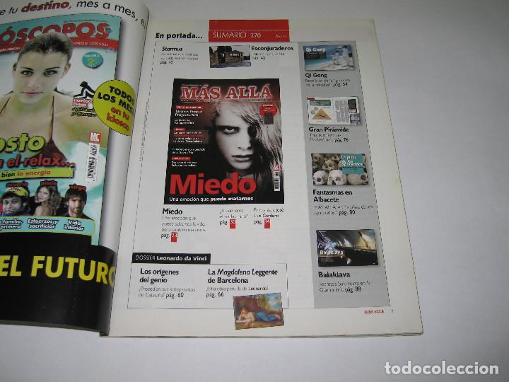 Coleccionismo de Revista Más Allá: MÁS ALLÁ - núm. 270 - MIEDO una emoción que puede matarnos - 2011 - Foto 2 - 183892712