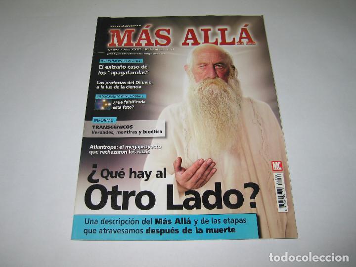 MÁS ALLÁ - NÚM. 272 - ¿QUE HAY AL OTRO LADO? - TRANSGÉNICOS - APAGAFAROLAS - 2011 (Coleccionismo - Revistas y Periódicos Modernos (a partir de 1.940) - Revista Más Allá)