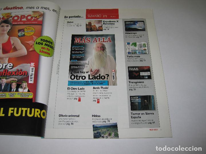 Coleccionismo de Revista Más Allá: MÁS ALLÁ - núm. 272 - ¿QUE HAY AL OTRO LADO? - Transgénicos - Apagafarolas - 2011 - Foto 2 - 183892825