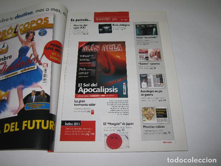 Coleccionismo de Revista Más Allá: MÁS ALLÁ - núm. 274 - EL SOL DEL APOCALIPSIS - 2011 - Foto 2 - 183892913