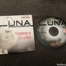 Coleccionismo de Revista Más Allá: LA LUNA. ENIGMAS Y DESAFIOS. PC CD ROM. REVISTA MAS ALLA. Lote 184594267