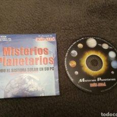Coleccionismo de Revista Más Allá: MISTERIOS PLANETARIOS. TODO EL SISTEMA SOLAR EN SU PC. REVISTA MAS ALLA. Lote 184594328