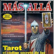 Coleccionismo de Revista Más Allá: MÁS ALLÁ, 121: EL PALMAR DE TROYA / CANTABRIA CELTA /... - 03/1999 | ESPECIAL DÉCIMO ANIVERSARIO. Lote 190090757