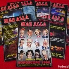 Coleccionismo de Revista Más Allá: MAS ALLÁ DE LA CIENCIA LOTE DE 7 REVISTAS Y UN MONOGRÁFICO. Lote 191533557