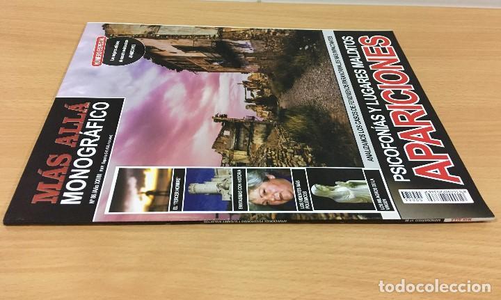 Coleccionismo de Revista Más Allá: REVISTA MÁS ALLÁ Nº 86 - MONOGRÁFICO APARICIONES - PSICOFONÍAS Y LUGARES MALDITOS COMO BELCHITE - Foto 2 - 191767847