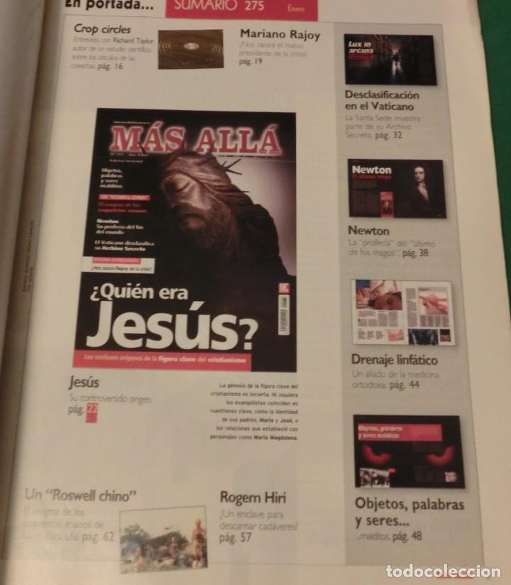 Coleccionismo de Revista Más Allá: MÁS ALLÁ MENSUAL Nº 275 / AÑO XXIV: ¿QUIÉN ERA JESÚS? - Foto 2 - 192761716
