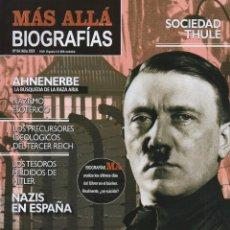 Coleccionismo de Revista Más Allá: MAS ALLA BIOGRAFIAS N. 4 - HITLER (NUEVA). Lote 193012060