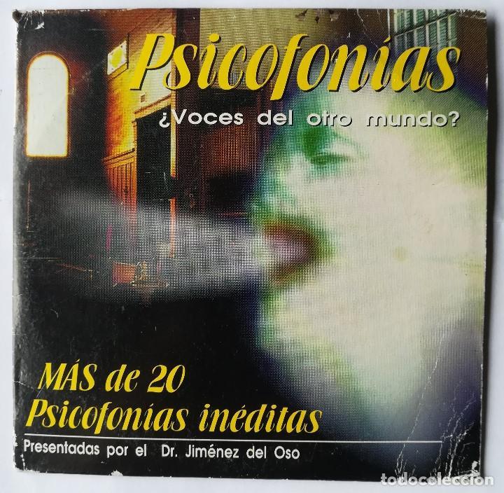 PSICOFONÍAS - CD - DR. JIMENEZ DEL OSO (Coleccionismo - Revistas y Periódicos Modernos (a partir de 1.940) - Revista Más Allá)