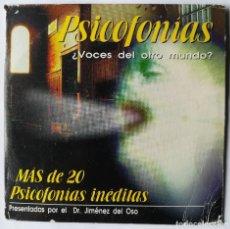 Coleccionismo de Revista Más Allá: PSICOFONÍAS - CD - DR. JIMENEZ DEL OSO. Lote 193390772