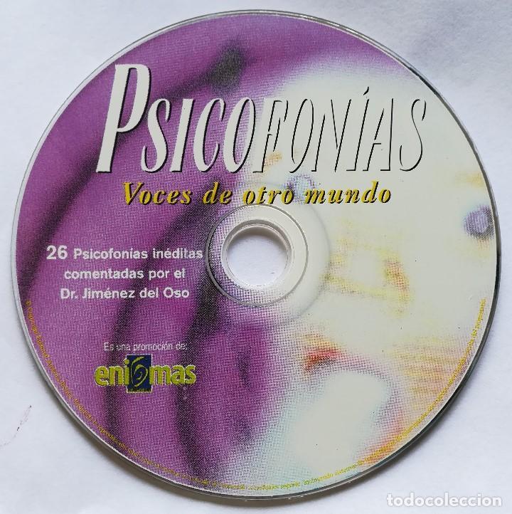Coleccionismo de Revista Más Allá: PSICOFONÍAS - CD - Dr. Jimenez Del Oso - Foto 3 - 193390772