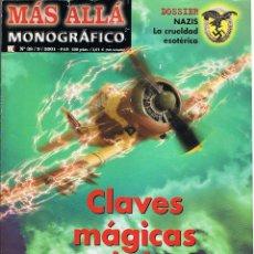Coleccionismo de Revista Más Allá: MÁS ALLÁ. MONOGRÁFICO Nº 38. 09/2001. CLAVES MÁGICAS DE LA GUERRA. Lote 193454470