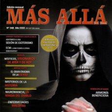 Coleccionismo de Revista Más Allá: MAS ALLA N. 348 - EN PORTADA: MUERTE (NUEVA). Lote 193632417