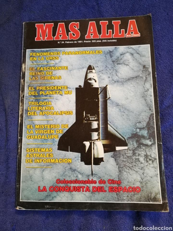 REVISTA MAS ALLA NUMERO 24 (Coleccionismo - Revistas y Periódicos Modernos (a partir de 1.940) - Revista Más Allá)