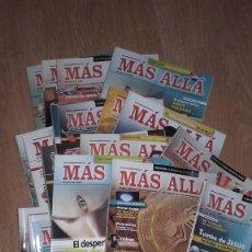 Coleccionismo de Revista Más Allá: LOTE DE 22 NUMEROS DE LA REVISTA MAS ALLA . . Lote 195299076