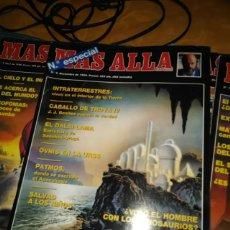 Coleccionismo de Revista Más Allá: 10 PRIMEROS NÚMEROS MÁS ALLÁ. Lote 196314237
