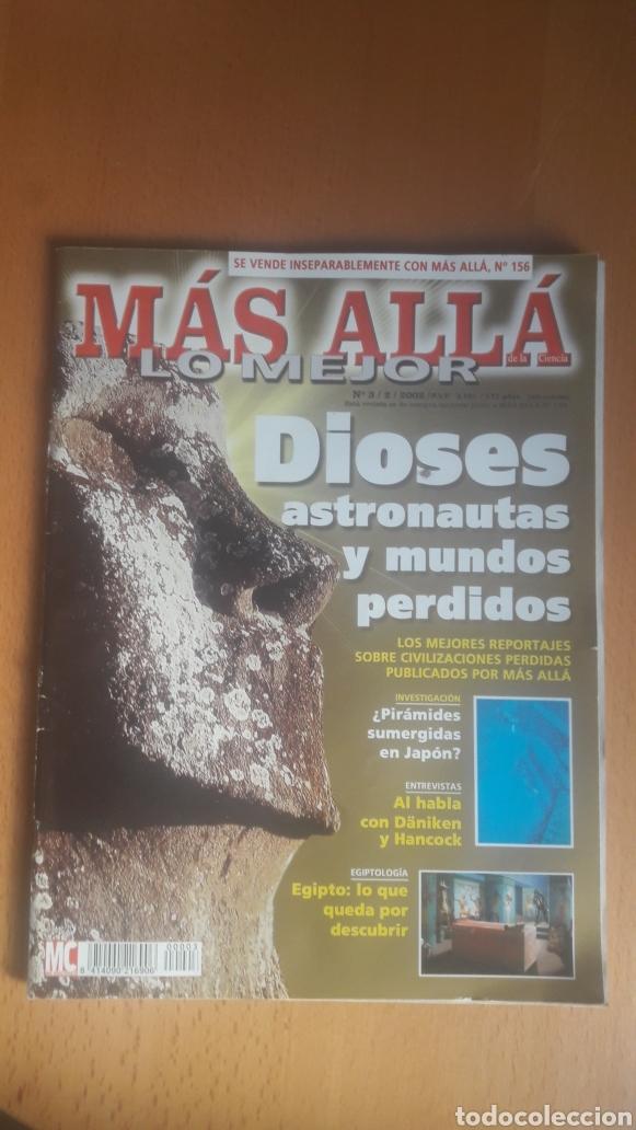 Coleccionismo de Revista Más Allá: LOTE 11 REVISTAS MÁS ALLÁ - Foto 3 - 198542627