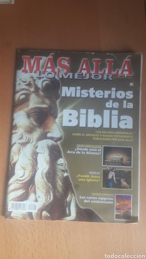 Coleccionismo de Revista Más Allá: LOTE 11 REVISTAS MÁS ALLÁ - Foto 4 - 198542627