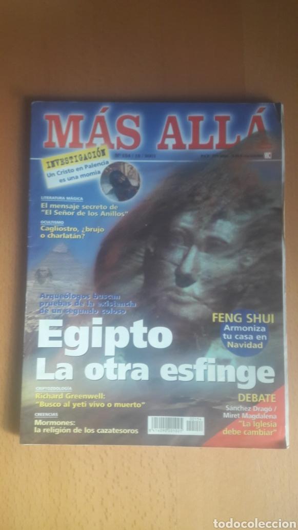 Coleccionismo de Revista Más Allá: LOTE 11 REVISTAS MÁS ALLÁ - Foto 5 - 198542627