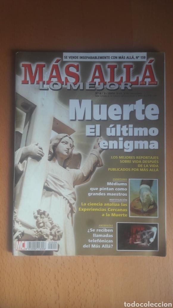 Coleccionismo de Revista Más Allá: LOTE 11 REVISTAS MÁS ALLÁ - Foto 6 - 198542627