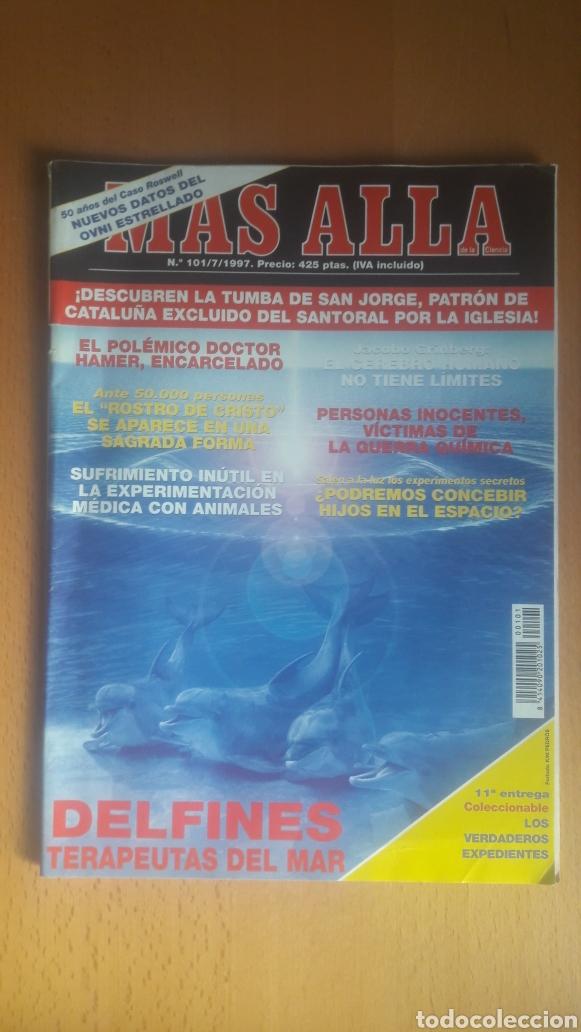Coleccionismo de Revista Más Allá: LOTE 11 REVISTAS MÁS ALLÁ - Foto 7 - 198542627