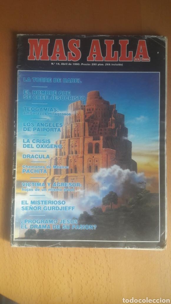 Coleccionismo de Revista Más Allá: LOTE 11 REVISTAS MÁS ALLÁ - Foto 8 - 198542627
