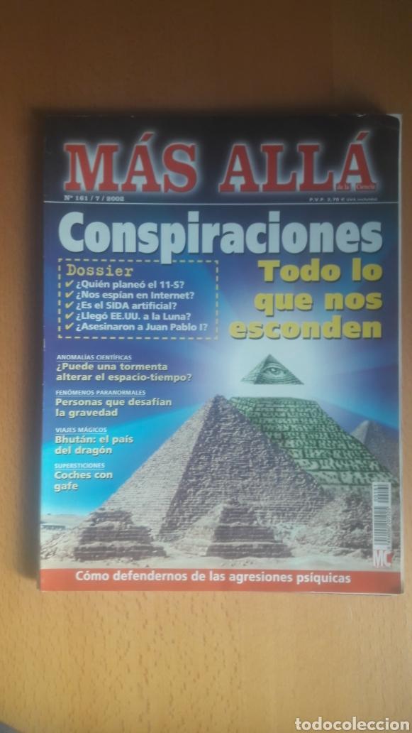 Coleccionismo de Revista Más Allá: LOTE 11 REVISTAS MÁS ALLÁ - Foto 9 - 198542627