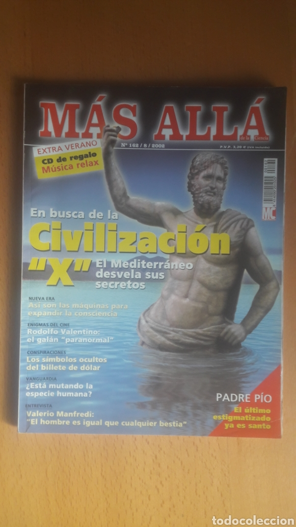 Coleccionismo de Revista Más Allá: LOTE 11 REVISTAS MÁS ALLÁ - Foto 12 - 198542627
