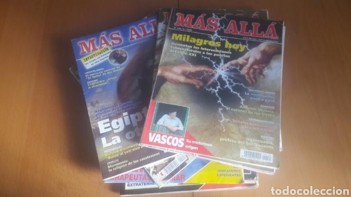 LOTE 11 REVISTAS MÁS ALLÁ (Coleccionismo - Revistas y Periódicos Modernos (a partir de 1.940) - Revista Más Allá)
