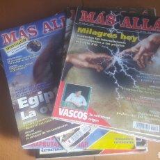 Coleccionismo de Revista Más Allá: LOTE 11 REVISTAS MÁS ALLÁ. Lote 198542627