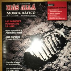 Coleccionismo de Revista Más Allá: REVISTA MÁS ALLÁ - NÚM: 66 AÑO XXIII - LOS SECRETOS DE LA CARRERA ESPACIAL. Lote 201557190
