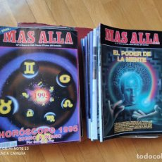 Coleccionismo de Revista Más Allá: MÁS ALLÁ REVISTA. 61 NUMS Y 3 MONOGRÁFICOS. Y CATALOGOS. Lote 202393628