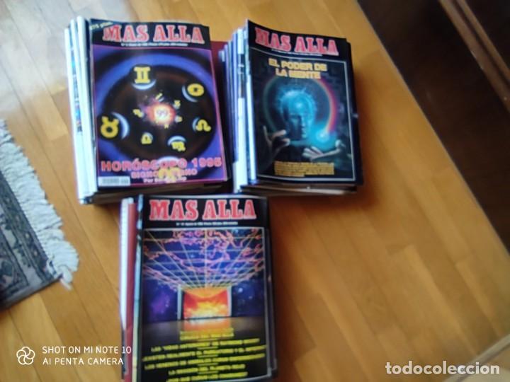 Coleccionismo de Revista Más Allá: MÁS ALLÁ REVISTA. 61 NUMS Y 3 MONOGRÁFICOS. Y CATALOGOS - Foto 2 - 202393628