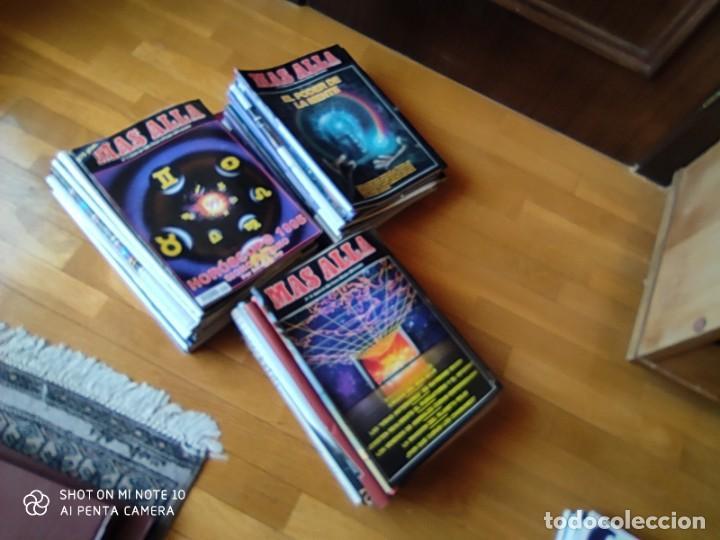 Coleccionismo de Revista Más Allá: MÁS ALLÁ REVISTA. 61 NUMS Y 3 MONOGRÁFICOS. Y CATALOGOS - Foto 3 - 202393628