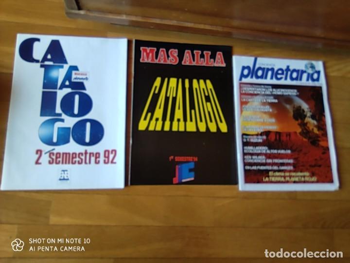 Coleccionismo de Revista Más Allá: MÁS ALLÁ REVISTA. 61 NUMS Y 3 MONOGRÁFICOS. Y CATALOGOS - Foto 4 - 202393628