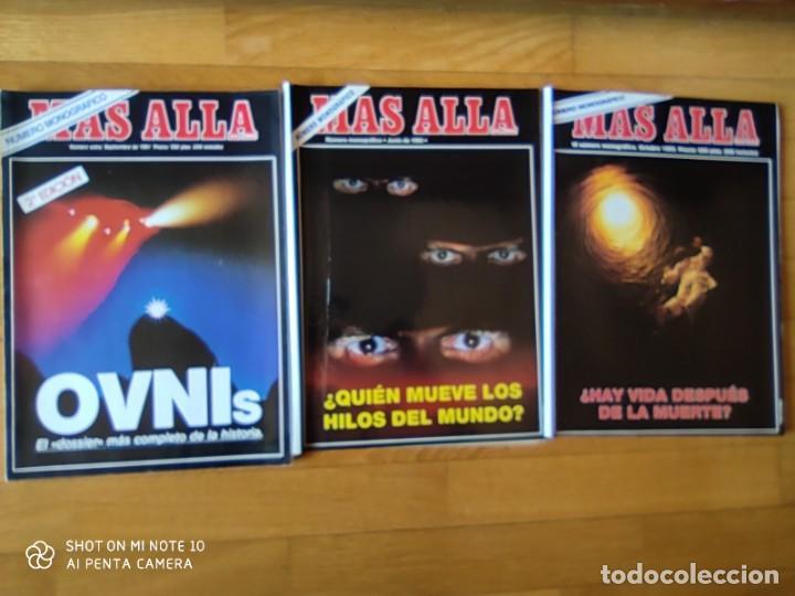 Coleccionismo de Revista Más Allá: MÁS ALLÁ REVISTA. 61 NUMS Y 3 MONOGRÁFICOS. Y CATALOGOS - Foto 6 - 202393628
