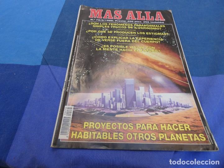 LIBRERIA OCULTISTA ARKANSAS ENVIO 5 KG 6,40 ESTADO DECENTE NUM 78 (Coleccionismo - Revistas y Periódicos Modernos (a partir de 1.940) - Revista Más Allá)