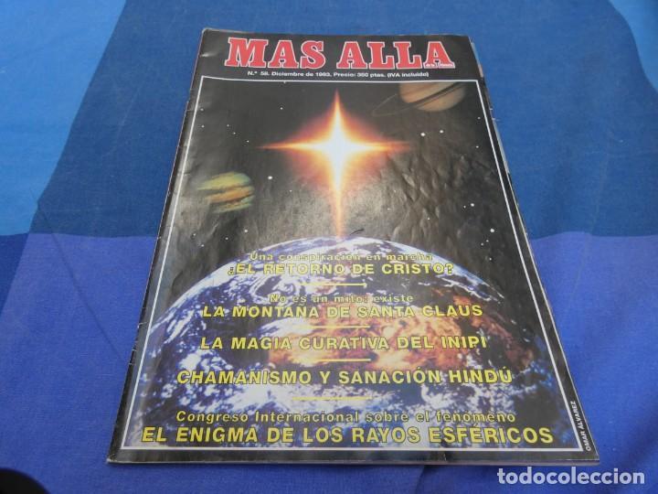 LIBRERIA OCULTISTA ARKANSAS ENVIO 5 KG 6,40 ESTADO DECENTE NUM 58 (Coleccionismo - Revistas y Periódicos Modernos (a partir de 1.940) - Revista Más Allá)