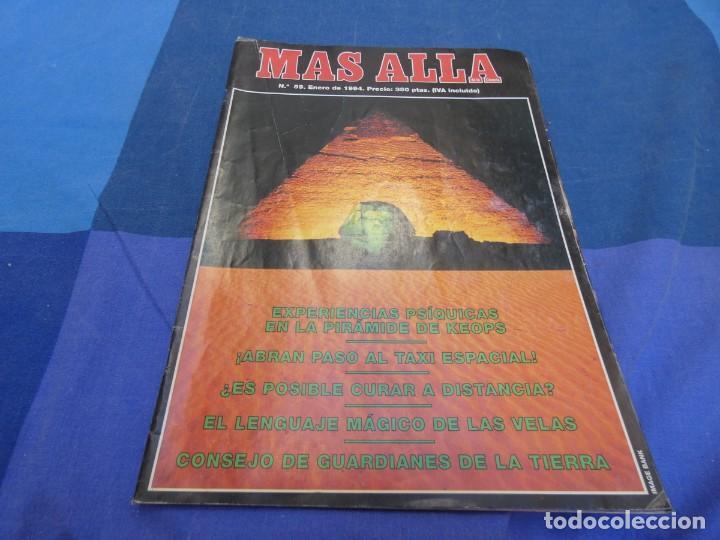 LIBRERIA OCULTISTA ARKANSAS ENVIO 5 KG 6,40 ESTADO DECENTE NUM 59 (Coleccionismo - Revistas y Periódicos Modernos (a partir de 1.940) - Revista Más Allá)