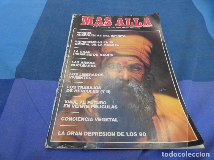 LIBRERIA OCULTISTA ARKANSAS ENVIO 5 KG 6,40 ESTADO DECENTE NUMERO 21 (Coleccionismo - Revistas y Periódicos Modernos (a partir de 1.940) - Revista Más Allá)
