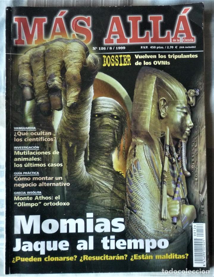 MAS ALLA. Nº 126 (Coleccionismo - Revistas y Periódicos Modernos (a partir de 1.940) - Revista Más Allá)