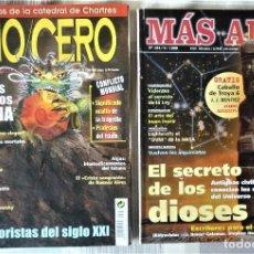 Coleccionismo de Revista Más Allá: LOTE DE DOS REVISTAS CON DEFICIENCIAS. MAS ALLA. Nº 124 Y AÑO/CERO Nº 11-136. Lote 204810288