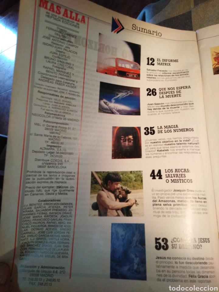 Coleccionismo de Revista Más Allá: MÁS ALLA-N°1,MARZO 1989,QUE NOS ESPERA DESPUÉS DE LA MUERTE,COLÓN SABÍA MUY BIEN A DONDE IBA,LA MAGI - Foto 2 - 205392571