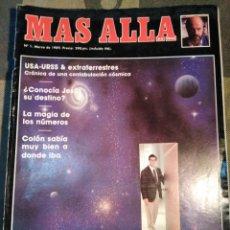 Coleccionismo de Revista Más Allá: MÁS ALLA-N°1,MARZO 1989,QUE NOS ESPERA DESPUÉS DE LA MUERTE,COLÓN SABÍA MUY BIEN A DONDE IBA,LA MAGI. Lote 205392571