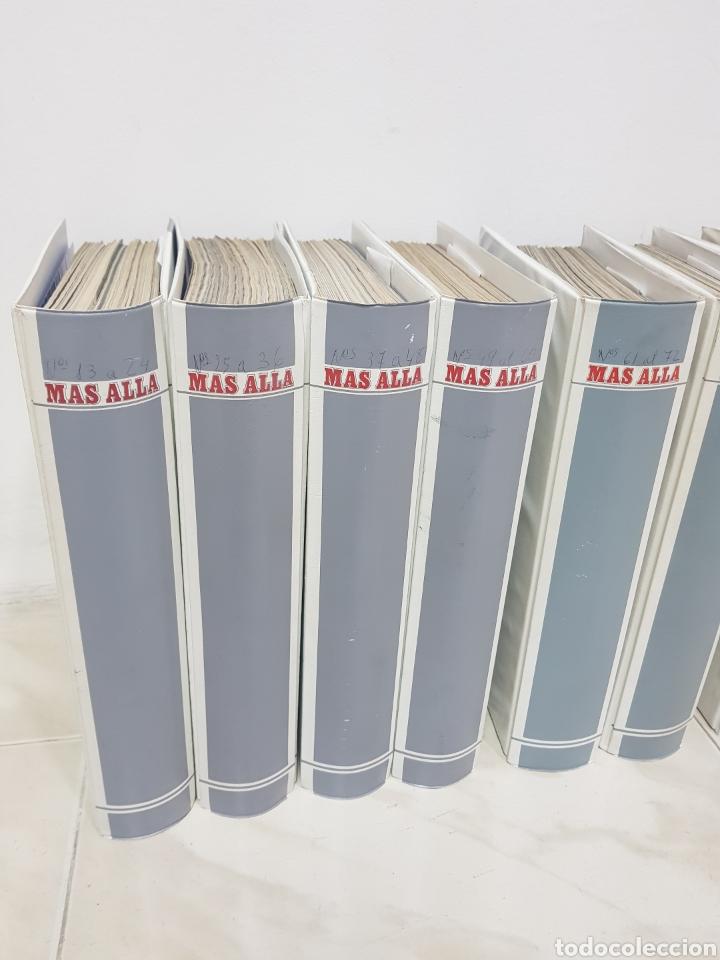 Coleccionismo de Revista Más Allá: REVISTAS MAS ALLA DEL NUMERO 13 A 168. En 13 tomos encuadernados - Foto 3 - 206326048