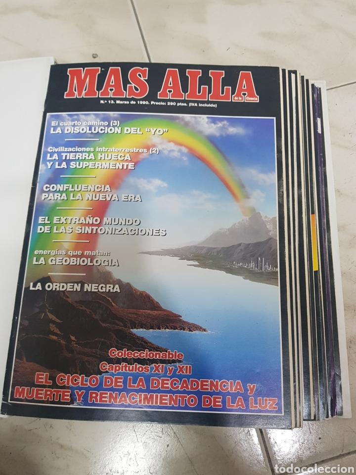 Coleccionismo de Revista Más Allá: REVISTAS MAS ALLA DEL NUMERO 13 A 168. En 13 tomos encuadernados - Foto 5 - 206326048
