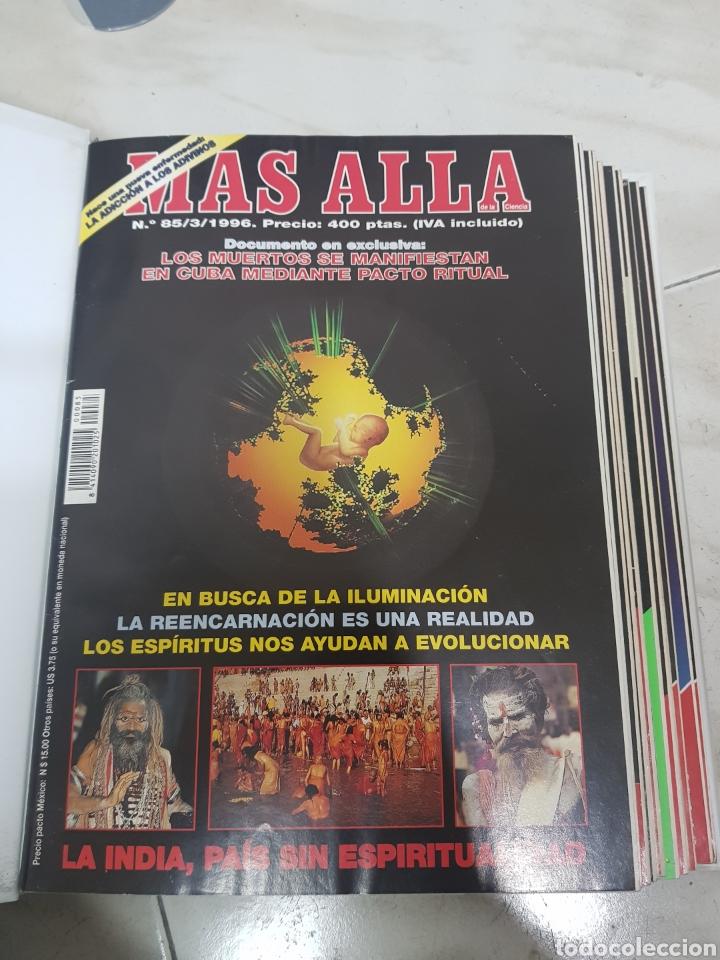 Coleccionismo de Revista Más Allá: REVISTAS MAS ALLA DEL NUMERO 13 A 168. En 13 tomos encuadernados - Foto 6 - 206326048