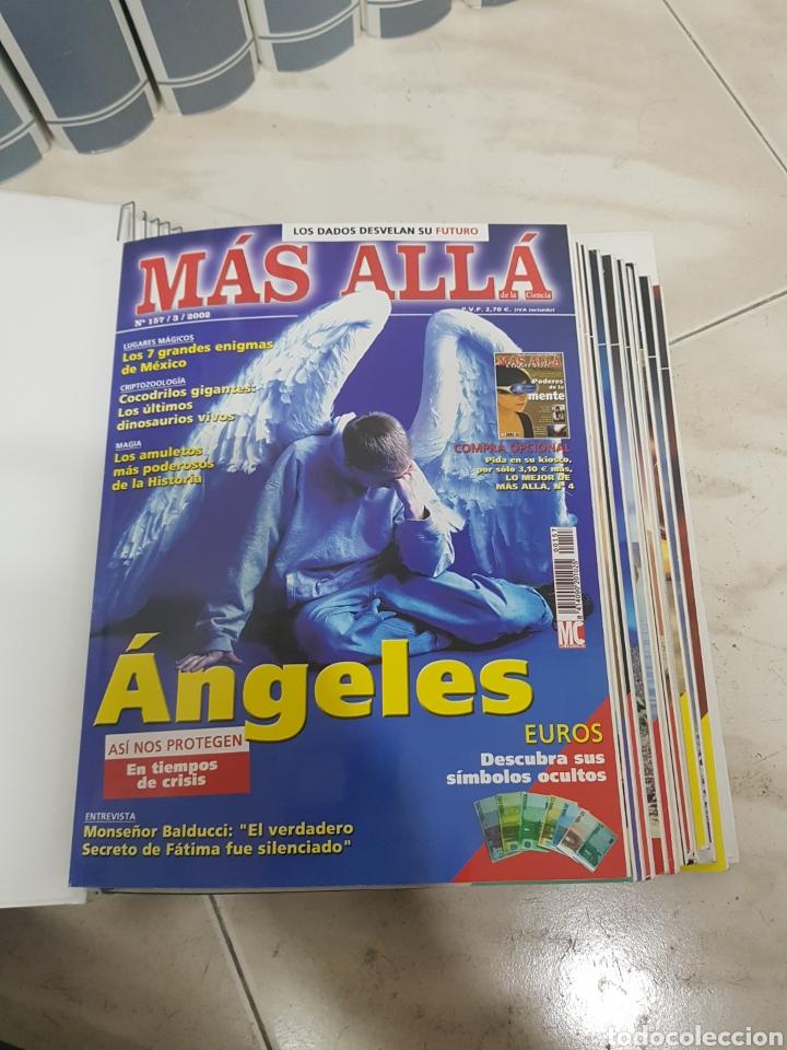 Coleccionismo de Revista Más Allá: REVISTAS MAS ALLA DEL NUMERO 13 A 168. En 13 tomos encuadernados - Foto 7 - 206326048