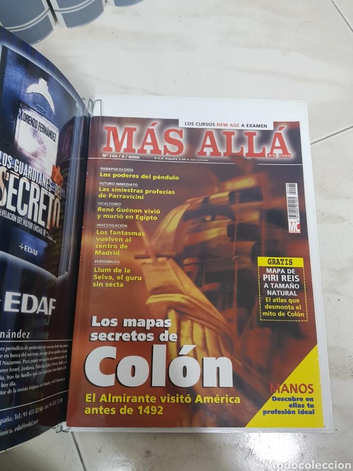 Coleccionismo de Revista Más Allá: REVISTAS MAS ALLA DEL NUMERO 13 A 168. En 13 tomos encuadernados - Foto 8 - 206326048